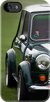 Mini Cooper iphone case by Martyn Franklin