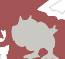 PKMN Silhouette - Tyrunt Family Sticker