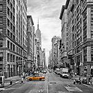 5th Avenue Yellow Cab - NYC by Melanie Viola