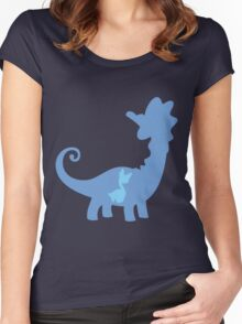PKMN Silhouette - Amaura Family Women's Fitted Scoop T-Shirt