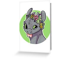 Toothless! Greeting Card