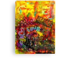 Blessed Beyond Measure Canvas Print