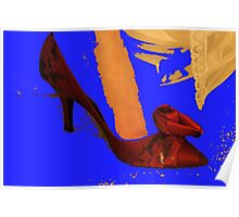 Red Shoe Poster