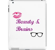 Beauty & Brains iPad Case/Skin