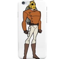 Bruce Timm Style Rocketeer iPhone Case/Skin