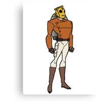 Bruce Timm Style Rocketeer Canvas Print