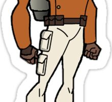 Bruce Timm Style Rocketeer Sticker