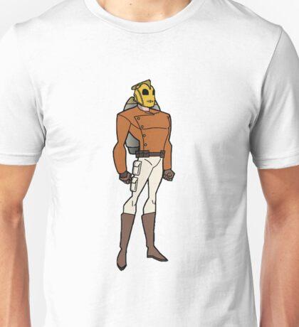 Bruce Timm Style Rocketeer Unisex T-Shirt
