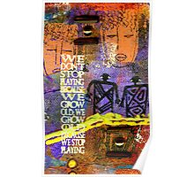 Never Stop Playing Poster
