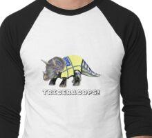 TriceraCops! Men's Baseball ¾ T-Shirt