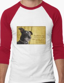 Dogfucius say: Price is Right... Men's Baseball ¾ T-Shirt
