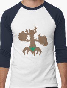 PKMN Silhouette - Phantump Family Men's Baseball ¾ T-Shirt