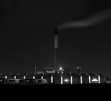 Midnight Factory Smoke by Michiel Meyboom