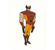 Bruce Timm Style Wolverine Art Print