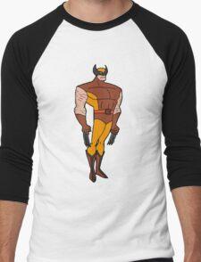 Bruce Timm Style Wolverine Men's Baseball ¾ T-Shirt