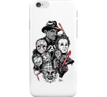 Horror Icons iPhone Case/Skin