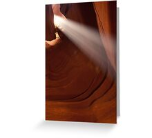 Antelope Canyon 5 Greeting Card