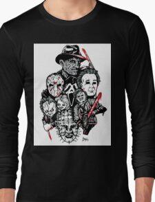 Horror Icons Long Sleeve T-Shirt