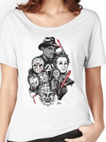 Horror Icons Women's Relaxed Fit T-Shirt