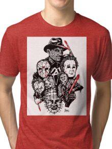 Horror Icons Tri-blend T-Shirt