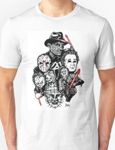 Horror Icons Unisex T-Shirt