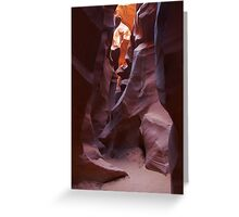 Antelope Canyon 6 Greeting Card