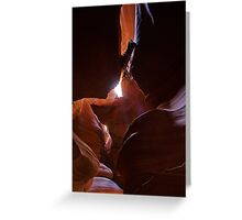 Antelope Canyon 9 Greeting Card