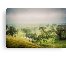 Mist Valley    (ED) Canvas Print