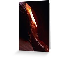 Antelope Canyon 13 Greeting Card