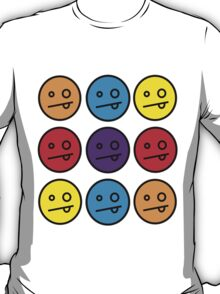 many faces T-Shirt