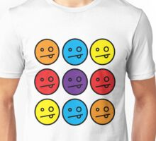 many faces Unisex T-Shirt