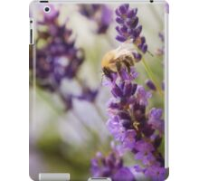 Bee on the Lavender iPad Case/Skin