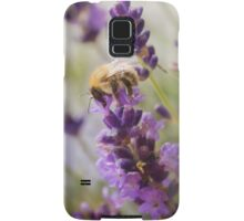 Bee on the Lavender Samsung Galaxy Case/Skin