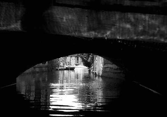 From under the bridge by Michiel Meyboom
