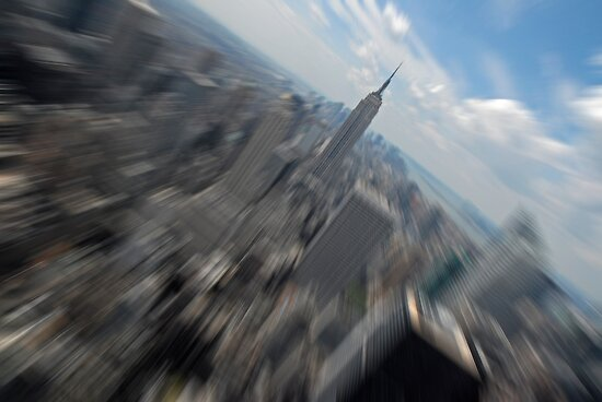 Empire State Building Zoom by Michiel Meyboom