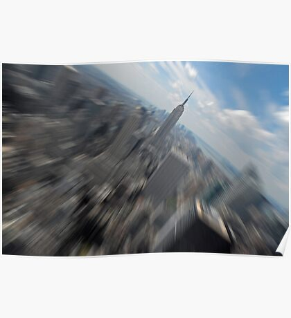 Empire State Building Zoom Poster