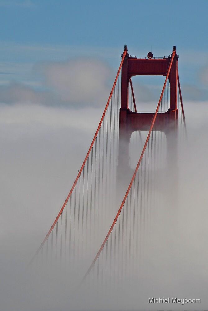 Golden Gate Bridge Closing In by Michiel Meyboom