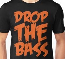 Drop Bass Not Bombs (Orange)  Unisex T-Shirt