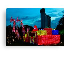 Ready for take off.. Singapore Canvas Print