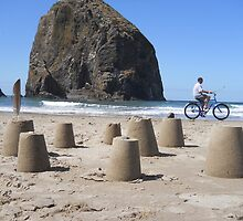 Castles and Bikes by Mike Cressy