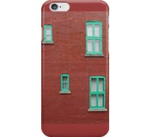 Four Windows and a Wire iPhone Case/Skin