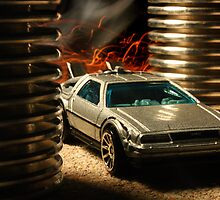 Hot Wheels DeLorean by Dan Owens