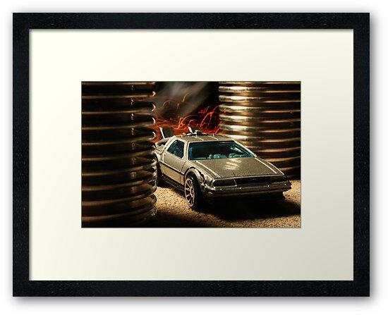 Hot Wheels DeLorean by Daniel Owens