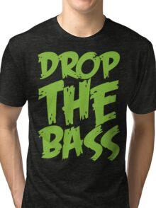 Drop The Bass (Neon) Tri-blend T-Shirt