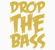 Drop The Bass (Mustard) Kids Tee
