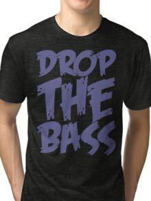 Drop The Bass (Purple) Tri-blend T-Shirt