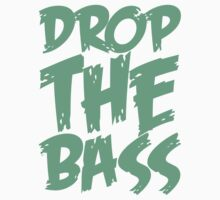 Drop The Bass (Black) Baby Tee