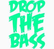 Drop The Bass (Black) Men's Baseball ¾ T-Shirt