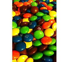 Chocolate Beans Photographic Print