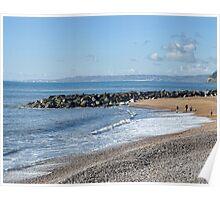 November At West Bay. Dorset. UK Poster